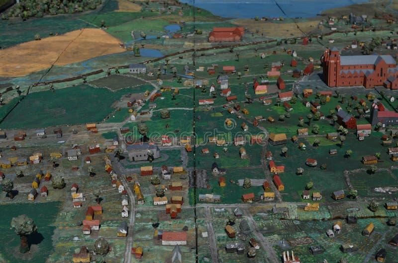 Roskilde kortkortstad arkivfoto