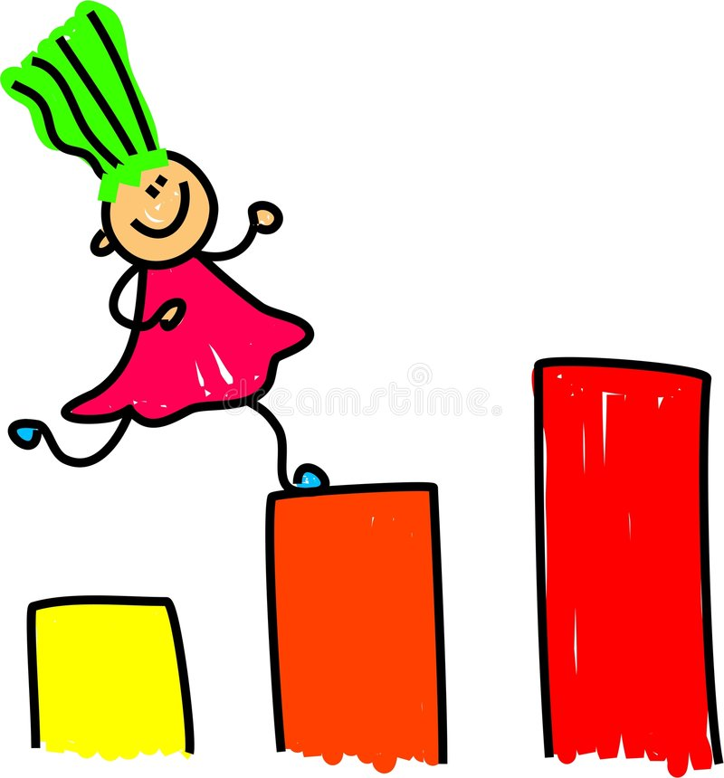 rosnąca dzieciaku ilustracji