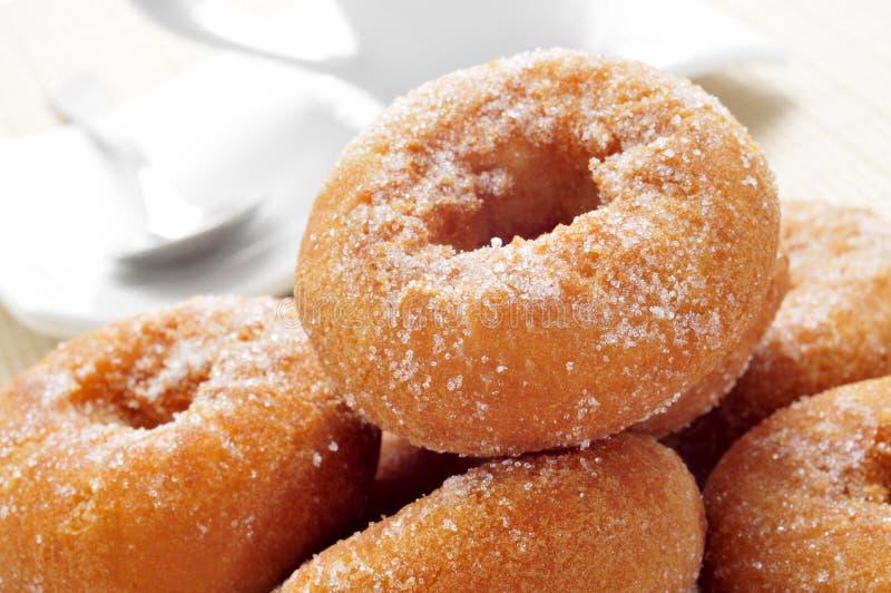 Rosquillas, typische Spaanse donuts stock afbeelding