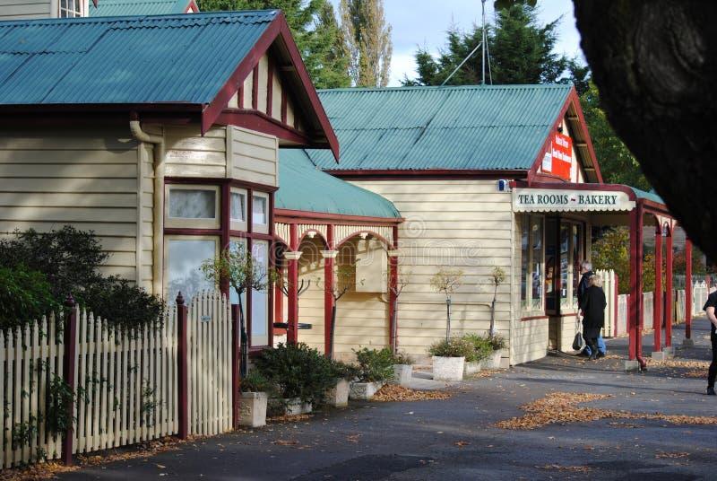 Ross, Тасмания, главная улица стоковые изображения rf