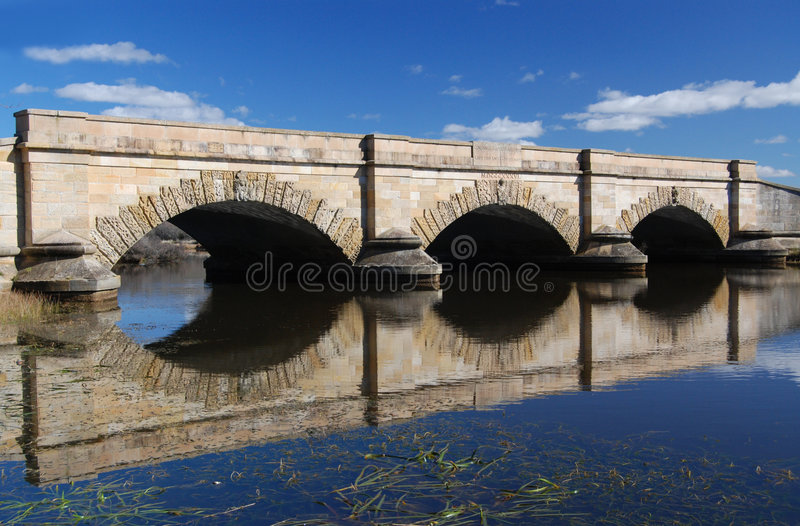 Download Ross Bridge stock photo. Image of mirror, attraction, arches - 6965254