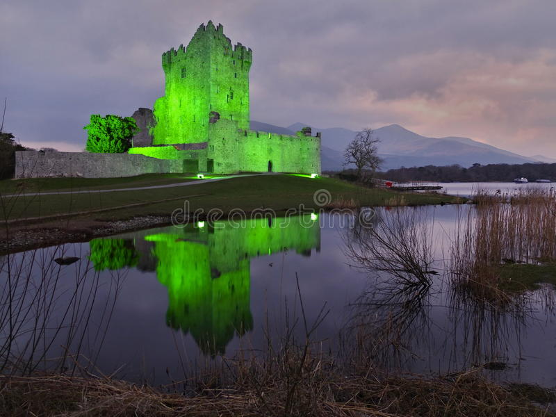 Ross Castle photo libre de droits