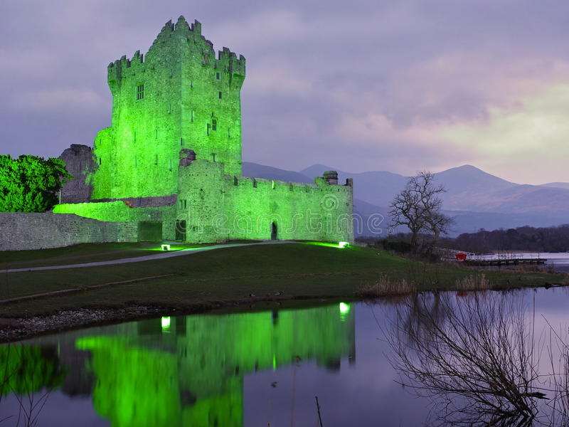Ross Castle photographie stock