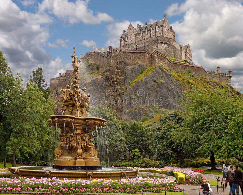 Download Ross Fountain Edinburgh Royalty Free Stock Photos - Image: 17240128