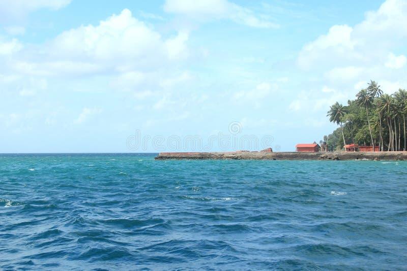 Ross Island(Andaman)-5. stock photo