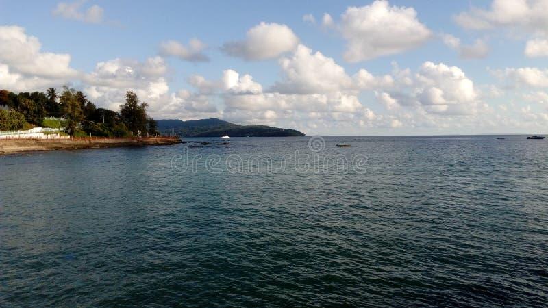 Ross Island, Port Blair, Indien lizenzfreies stockbild