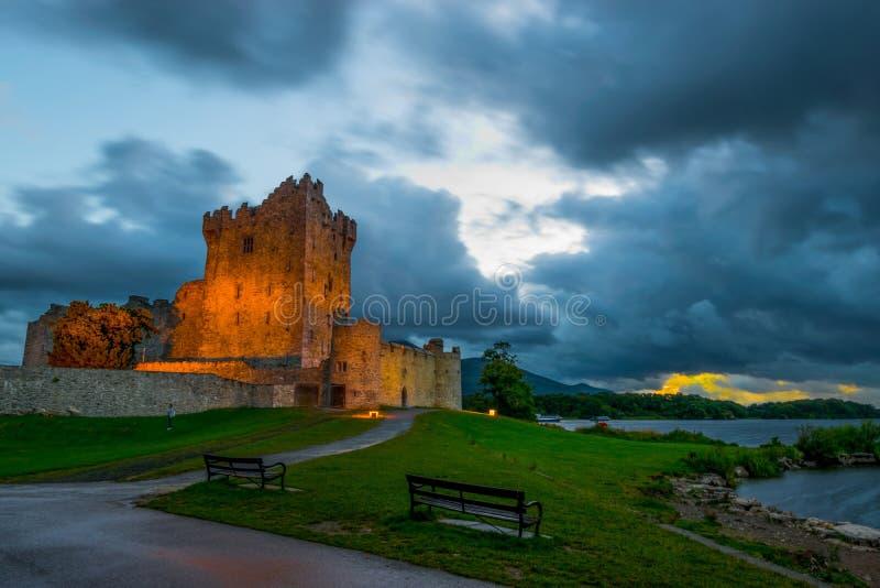Ross kasztel, Killarney 4 obrazy royalty free