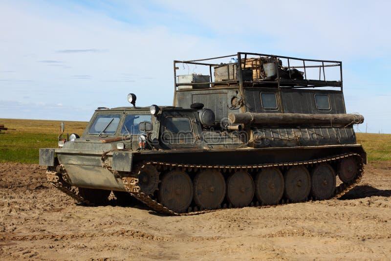 ?ross-land voertuig royalty-vrije stock fotografie
