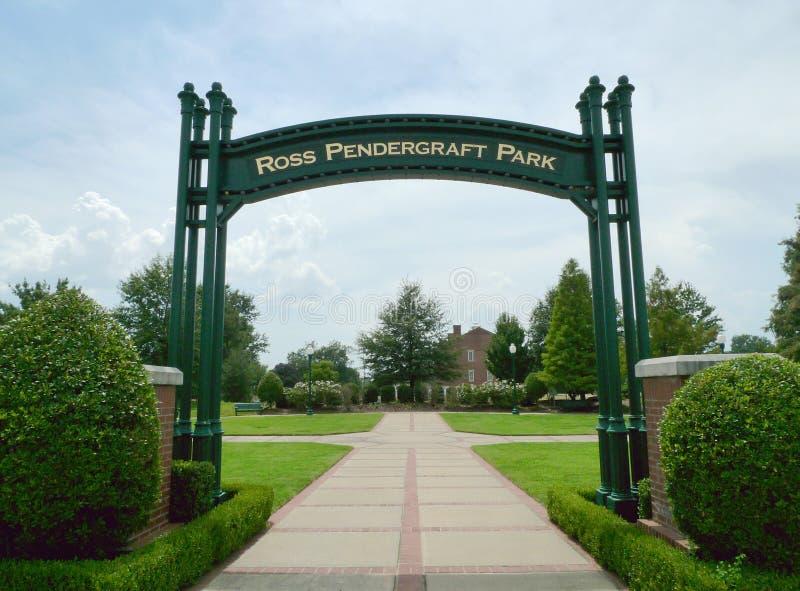 Ross Pendergraft Park, Fort Smith, AR imagen de archivo libre de regalías