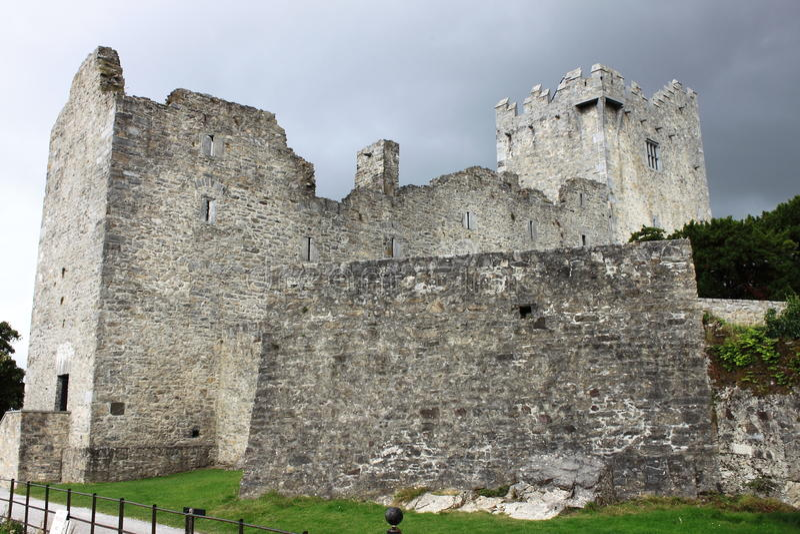 Ross-Schloss in Irland lizenzfreies stockbild