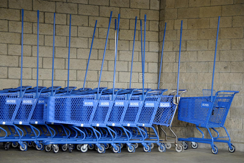ROSS SHOPPING CARTS