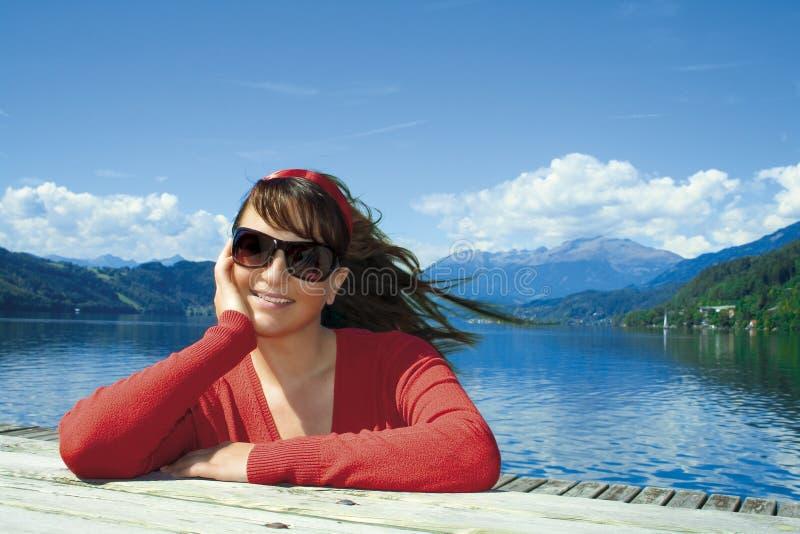 rossa för 9 lake royaltyfri fotografi