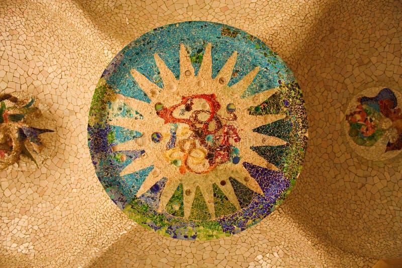 Download Rossete of Gaudi stock image. Image of depth, beautiful - 21721513