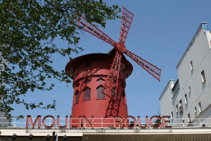 Rossetto di Moulin immagini stock libere da diritti