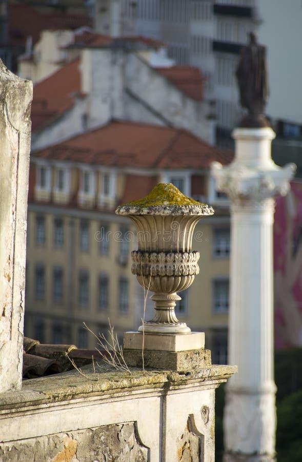 Rossio fyrkant Lissabon arkivfoto
