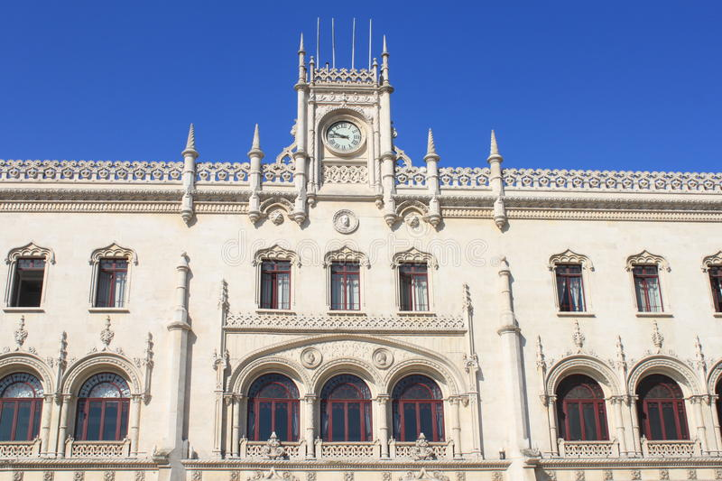 Download Rossio railway station stock image. Image of tourism - 25859597