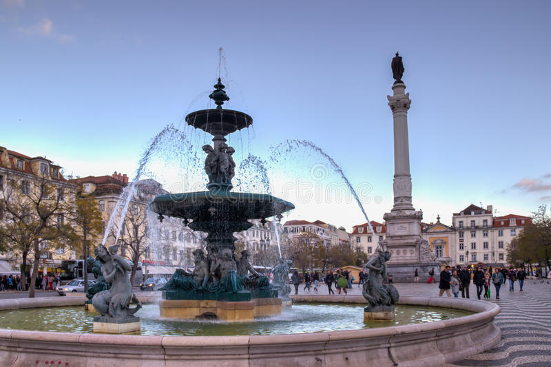 Rossio royalty free stock images