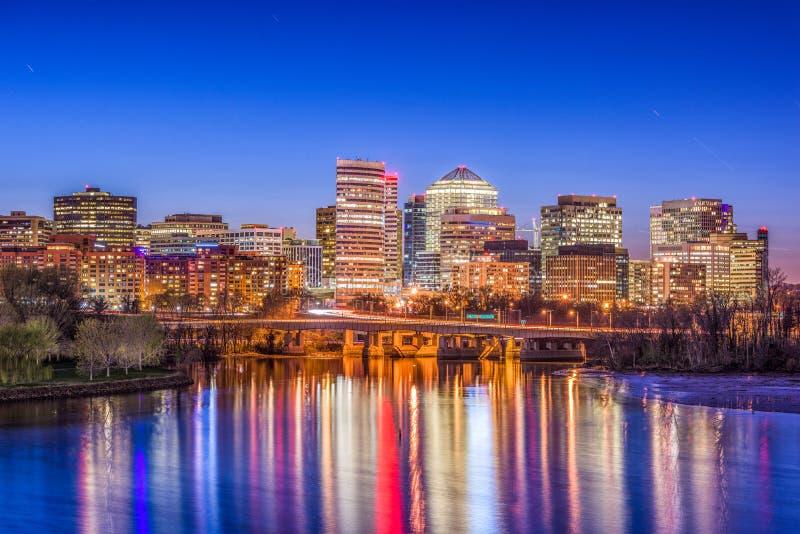 Rosslyn, Arlington, Virginia, de V.S. stock fotografie