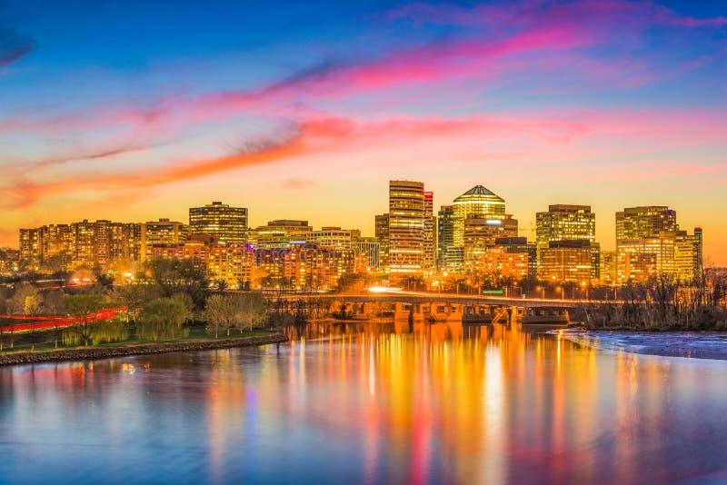 Rosslyn, Arlington, Virginia, usa fotografia stock