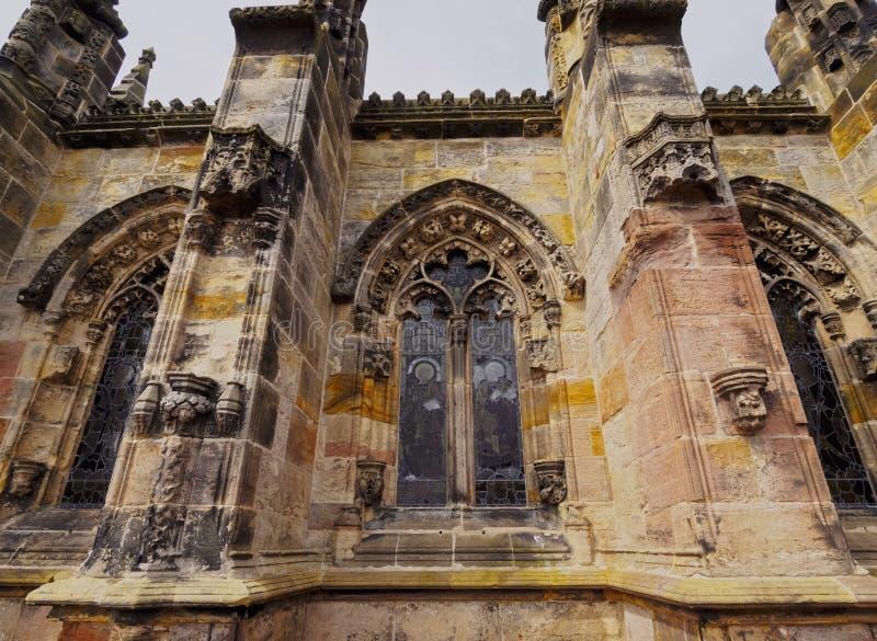 Rosslyn-Kapelle lizenzfreies stockfoto