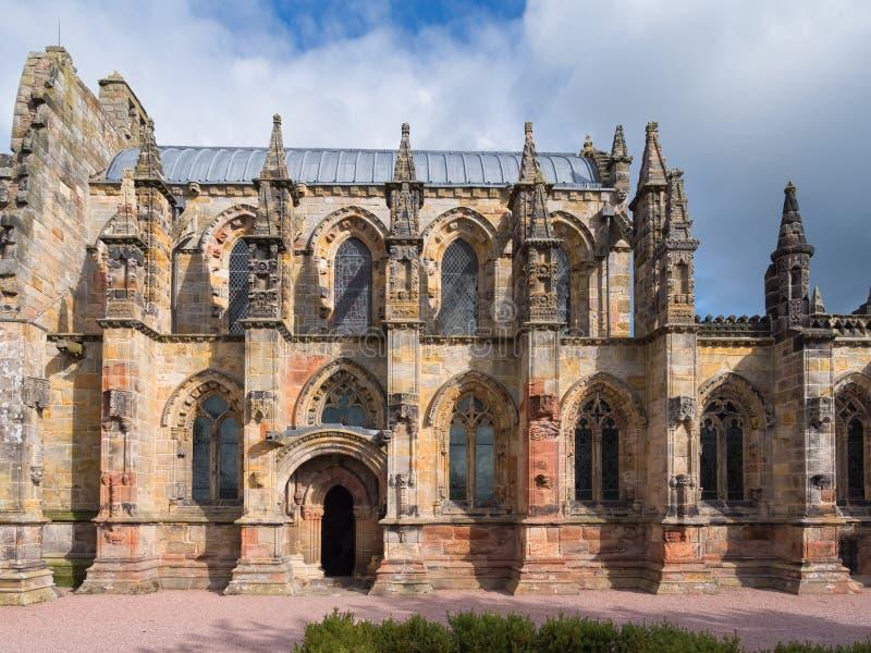 Rosslyn-Kapelle, Schottland stockfoto