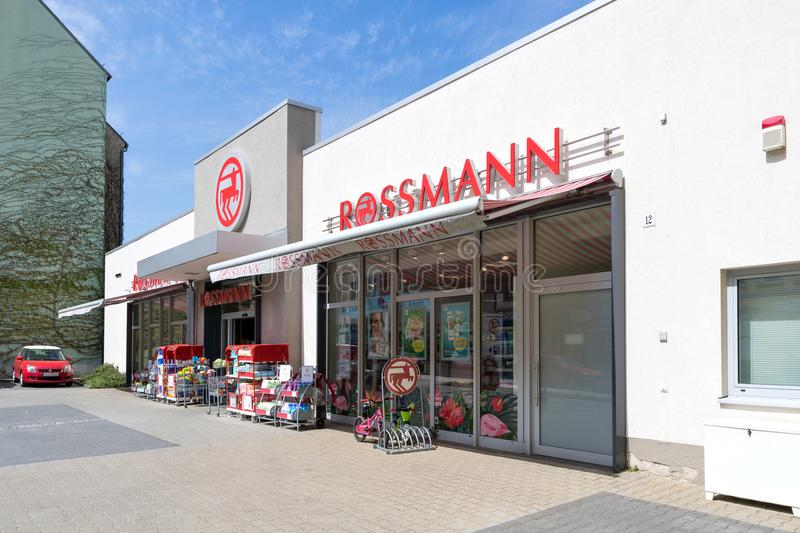 Rossmann branch royalty free stock images