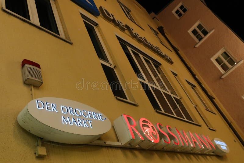 Rossmann-Drogerie stockfotos