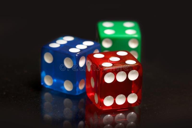 Rosso, blu e verde taglia immagine stock libera da diritti