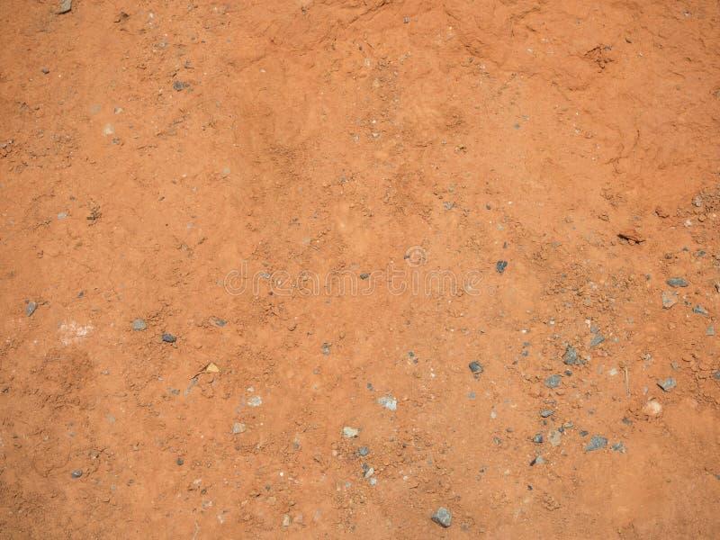 Rosso e marrone di struttura al suolo immagini stock libere da diritti