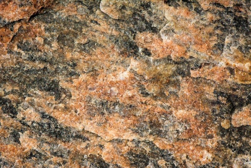 Rosso & granito chiazzato il nero immagine stock
