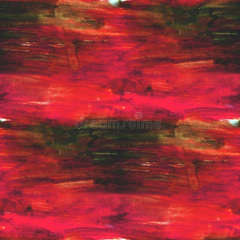 Rosso senza cuciture di struttura di stile dell'immagine della carta da parati illustrazione di stock