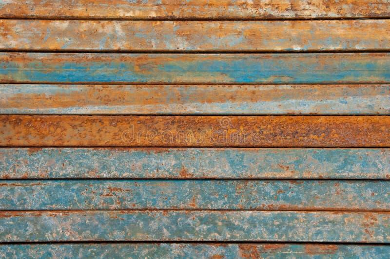 Rost auf Metalloberfläche lizenzfreies stockfoto