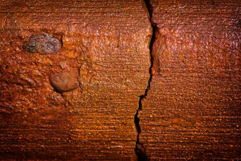 Rost befläckt betong 1 fotografering för bildbyråer