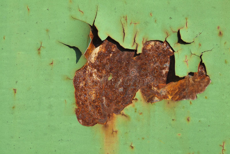 Rost- och målarfärgtextur arkivfoto