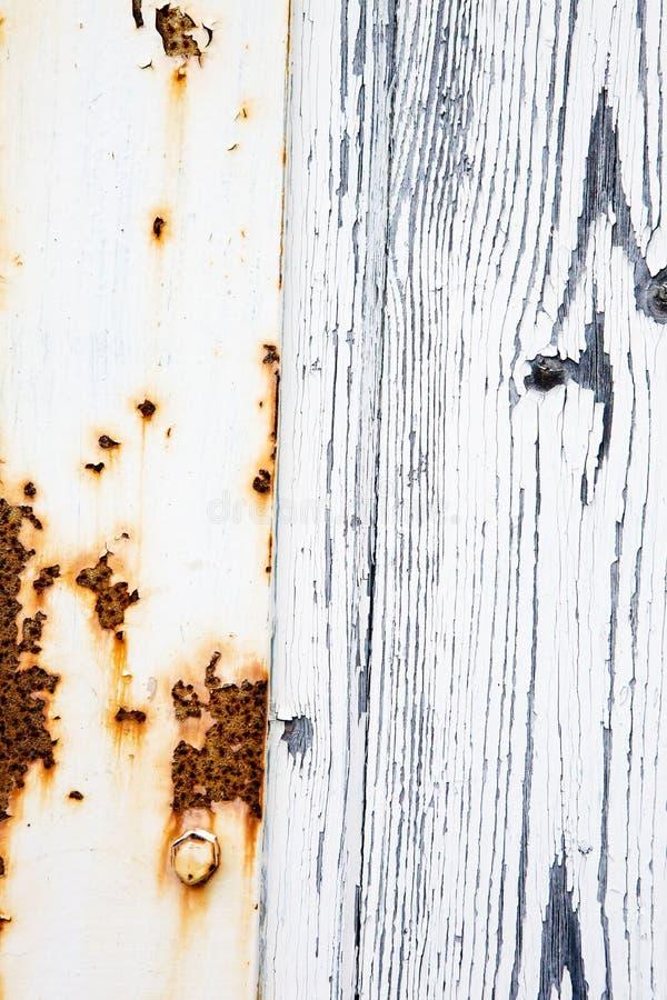 Rost und Holz lizenzfreies stockfoto