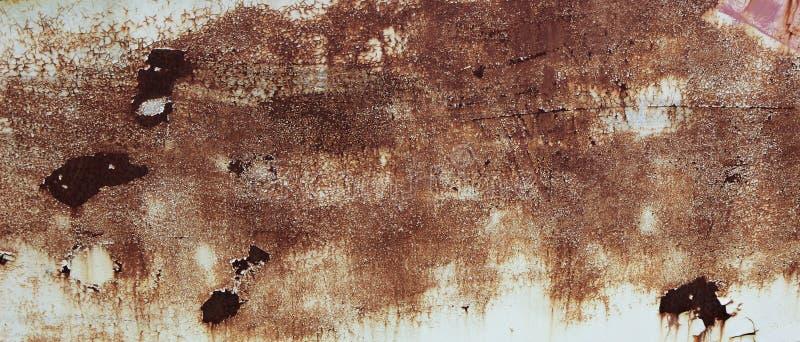 Rostad sida av fartyget arkivfoto