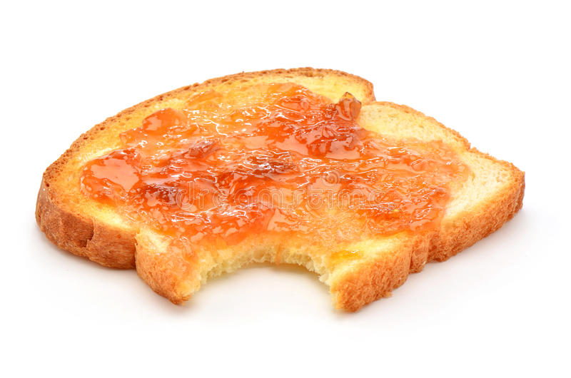 Rostat bröd med driftstopp royaltyfri fotografi