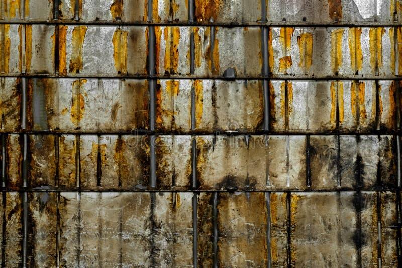 Rostat foto för metalltexturcloseup royaltyfri fotografi