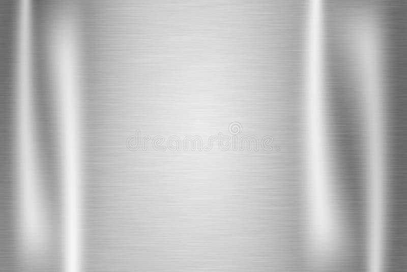 Rostfritt ståltextur arkivfoto