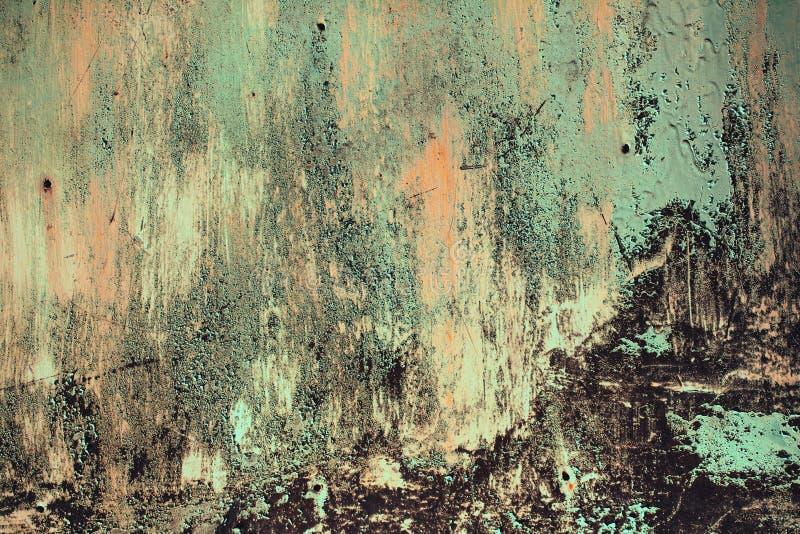 Rostig metall texturerad bakgrund arkivfoto