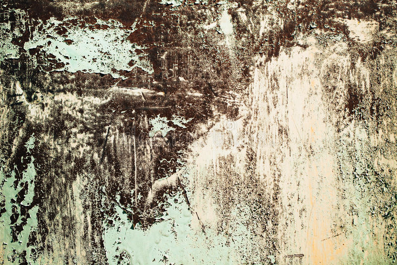 Rostig metall texturerad bakgrund royaltyfria bilder