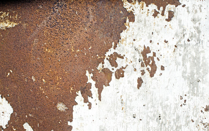 Rostig metallblick som den asia översikten arkivbilder