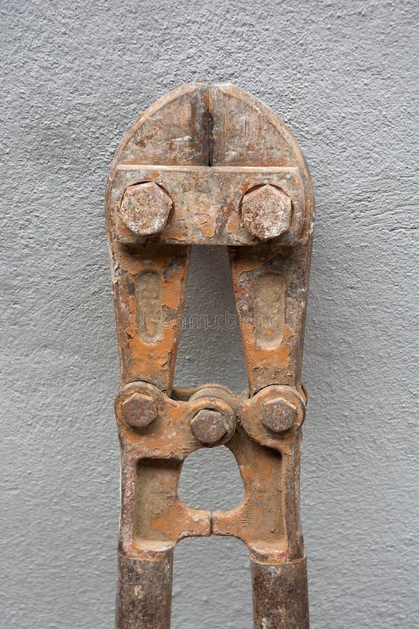 ROSTIG STEEL-PLIERS arkivfoto