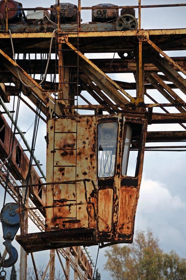 Rostige industrielle Maschinerie stockfoto