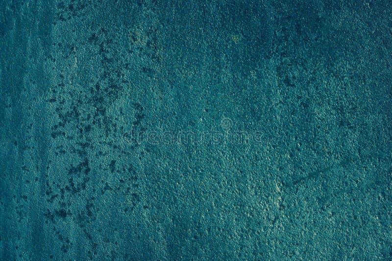 Rostige Metallbeschaffenheit blauer Raumhintergrund, für maserndes 3D, wir stockbilder
