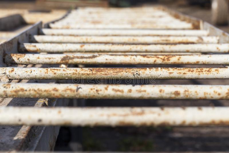 Rostige Metallstruktur lizenzfreie stockfotografie