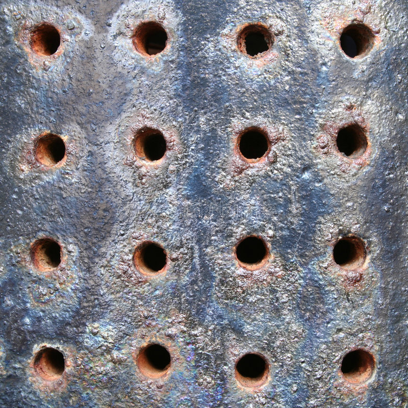 Rostige Oberfläche stockfotografie