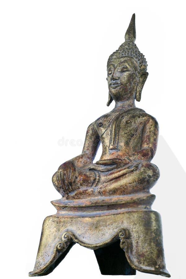 Rostige Weinlese Buddha-Statue lizenzfreie stockfotografie