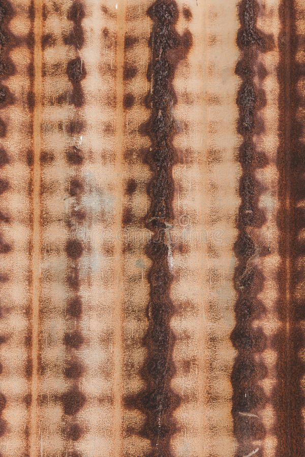 Rostige Zink-Wand stockfotografie