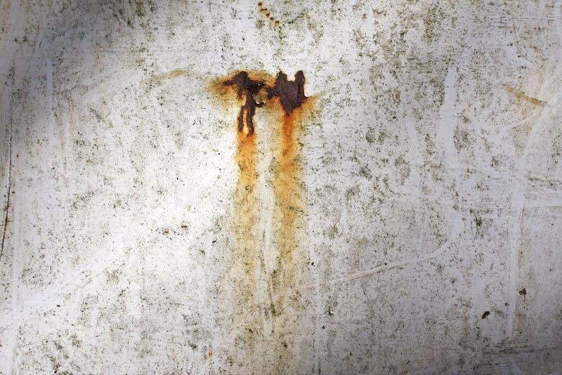 Rostiger gelöschter Metallgrunge Hintergrund stockfoto